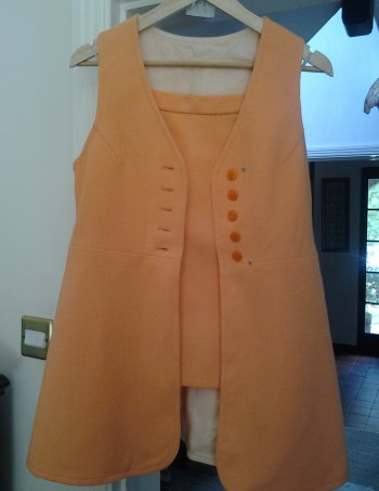 orange two piece