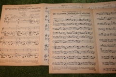 Avengers sheet music German