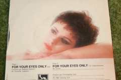 For Your eyes only French Single (1)