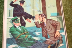 Green Hornet Whitman Jigsaw Puzzle set (3)