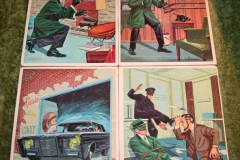 Green Hornet Whitman Jigsaw Puzzle set (4)