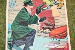 Green Hornet Whitman Jigsaw Puzzle set (7)