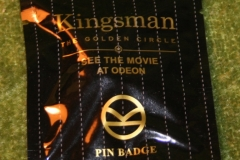 Kingsman badges Odeon Cinemas (2)