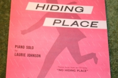 No Hiding Place Sheet music (1)
