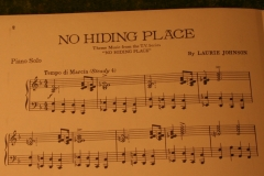 No Hiding Place Sheet music (2)