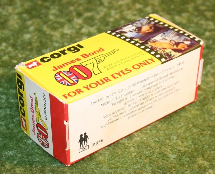 007 citroen 2cv corgi toys large
