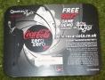 007 coke zero promo leaflet from multi pack