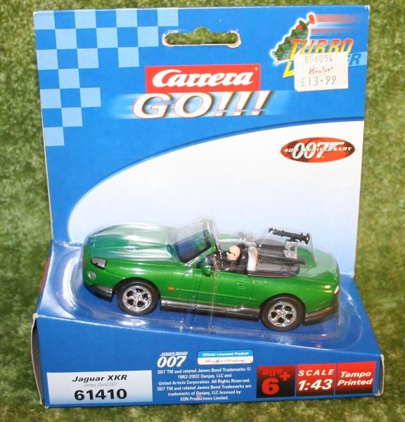 007 dad jaguar slot car