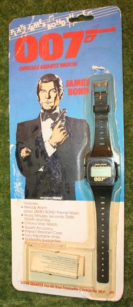 007 digital watch
