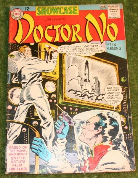 007 dr no dc comic