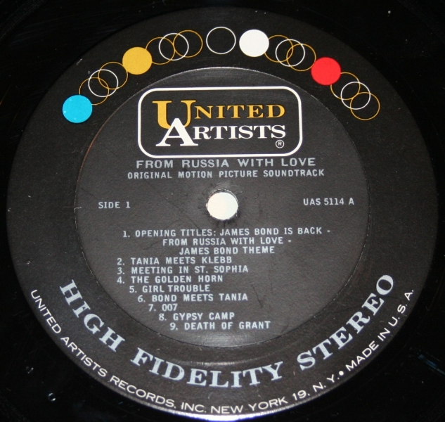 From Russia with Love LP (3)