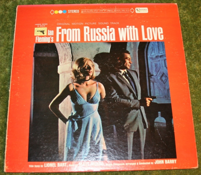 From Russia with Love LP