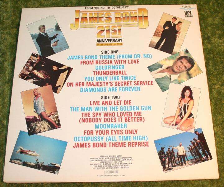 007 James Bond 21st ann LP (2)