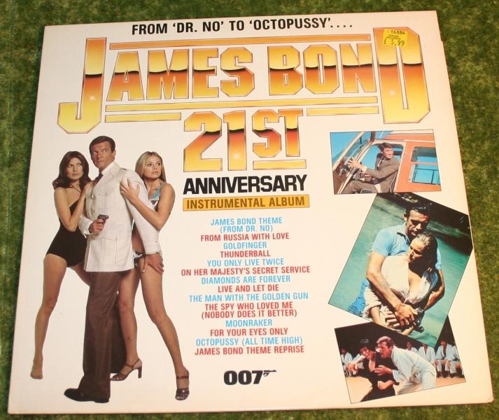 007 James Bond 21st ann LP
