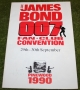 007 James Bond fan club Pinewood convention brochure 1990 (2)