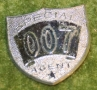 007 Lone star shield badge