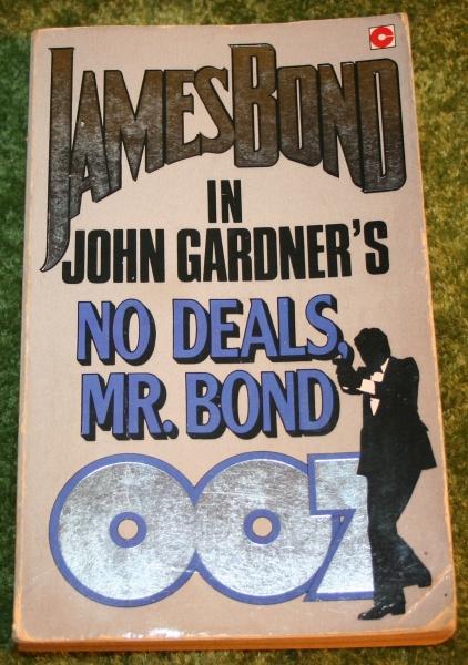 007 no deals mr bond
