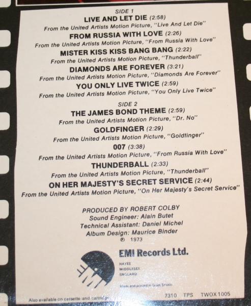 007 Pourcel Studio 2 Bond Greatest (4)