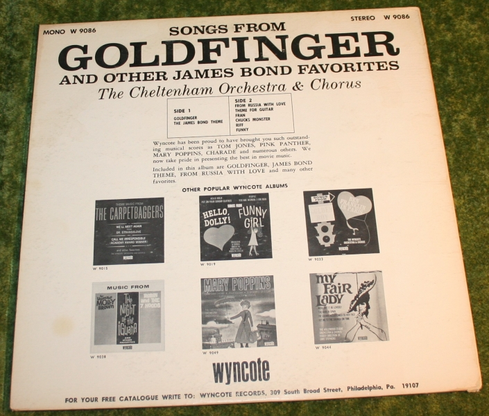 007 Songs from Goldfinger and others (3)