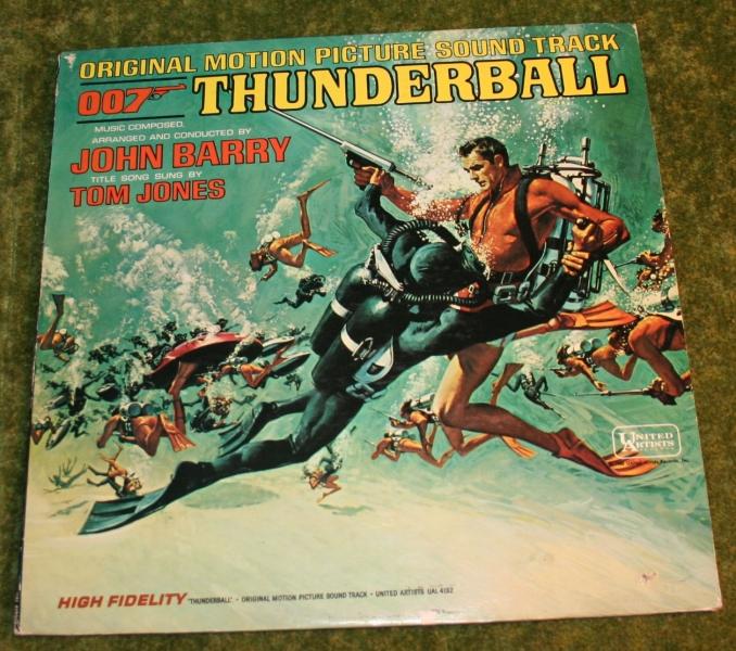 007 Thunderball UA LP (2)
