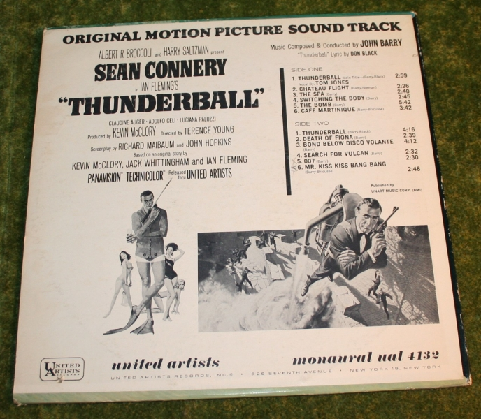 007 Thunderball UA LP (3)
