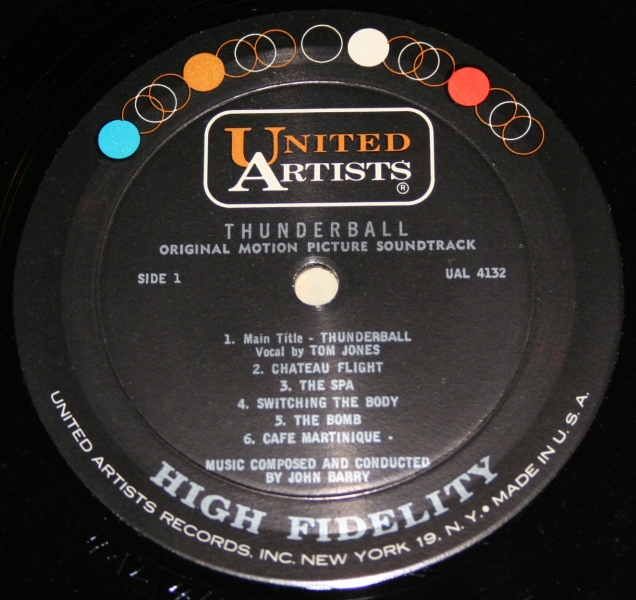 007 Thunderball UA LP (7)