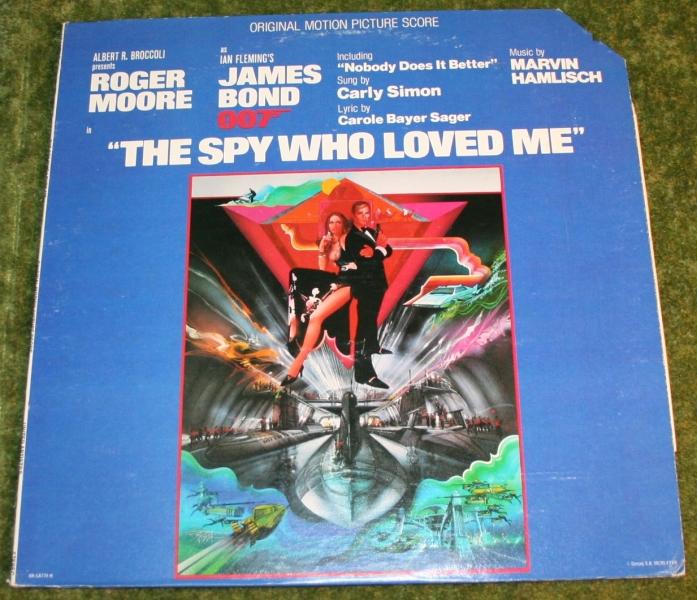 The Spy Who Loved Me soundtrack LP   Little Storping MuseumThe Spy Who Loved Me Soundtrack