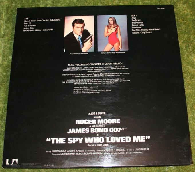 The Spy Who Loved Me soundtrack LP Gatefold   Little ...The Spy Who Loved Me Soundtrack