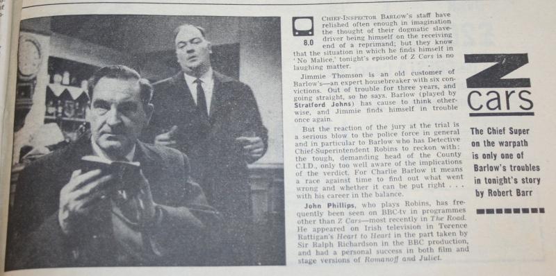 radio times 1964 febuary 1-7