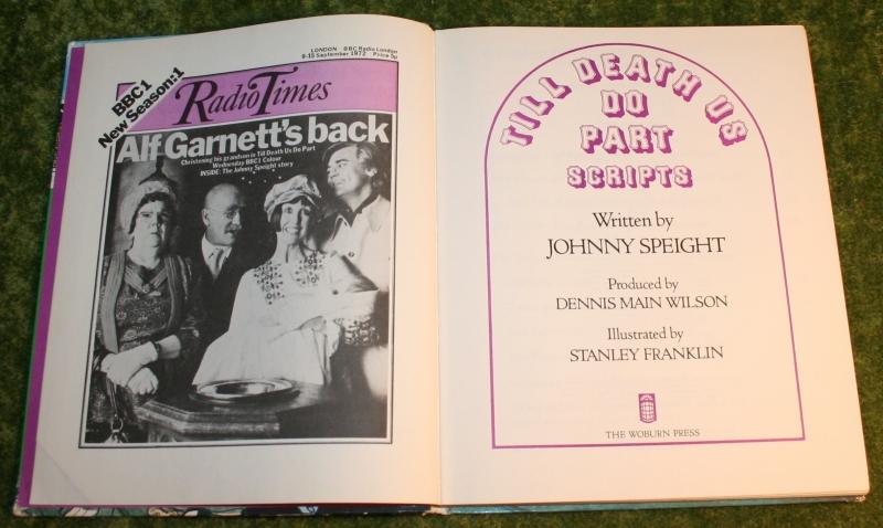 Alf Garnet scripts book (2)