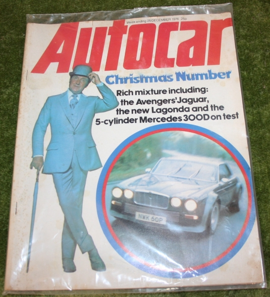 auto car 1976 december new avengers cover