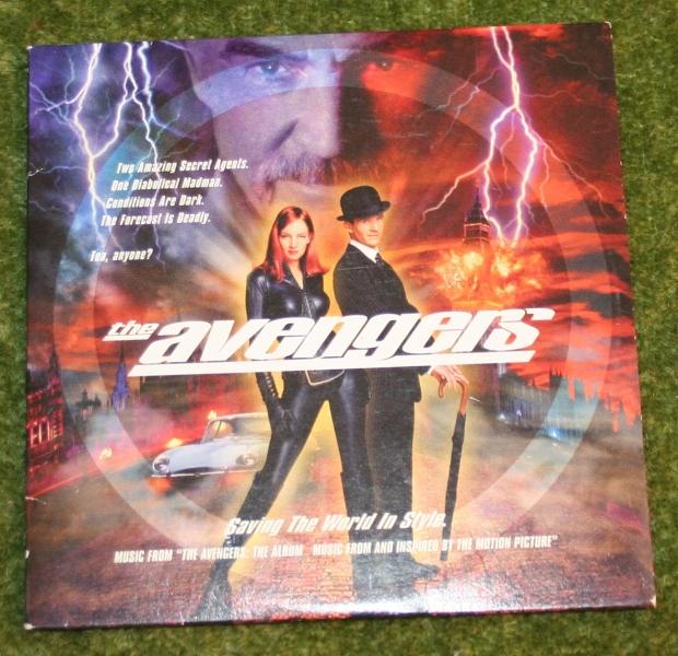 Avengers CD from sunglasses