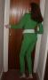 Avengers Emma Peel Catsuit Green (4)