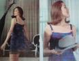 Avengers Emma peel playsuit with chiffon over dress (3)