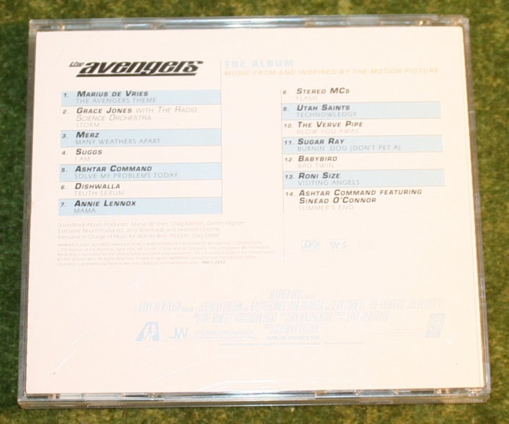 Avengers movie CD Album (2)