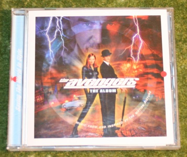 Avengers movie CD Album