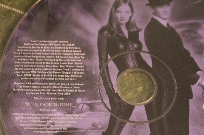 Avengers movie cd newspaper (3)