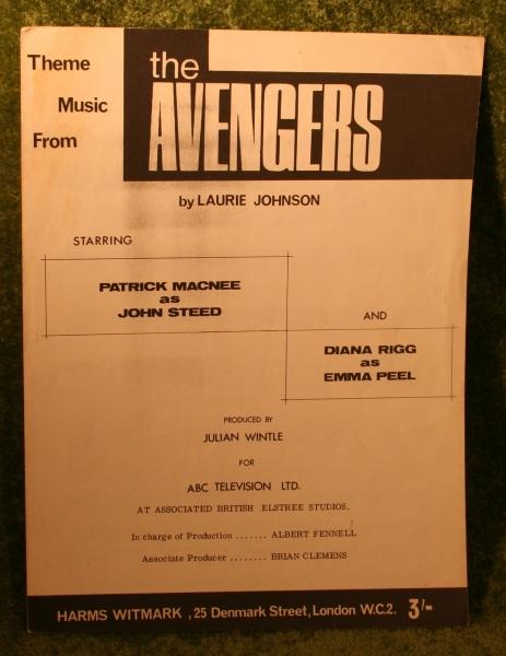 aveng-sheet-music