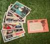 Batman no fan club cards
