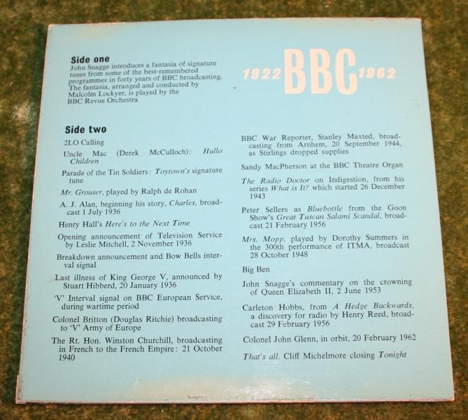 BBC 1922 1962 single (2)