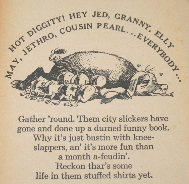 Beverly Hillbillies country humor book (3)