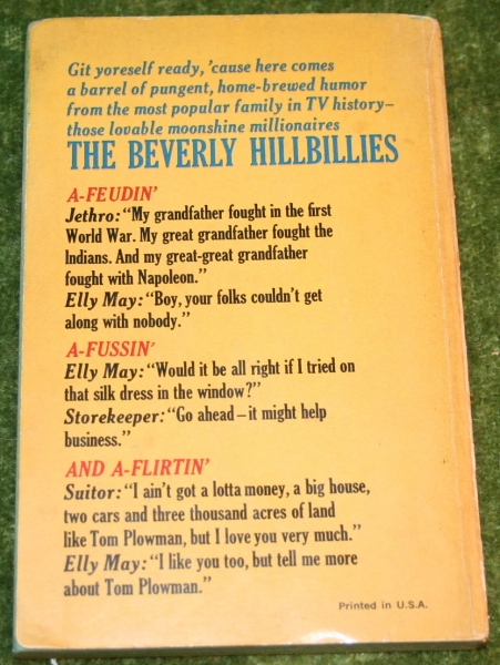 Beverly Hillbillies country humor book
