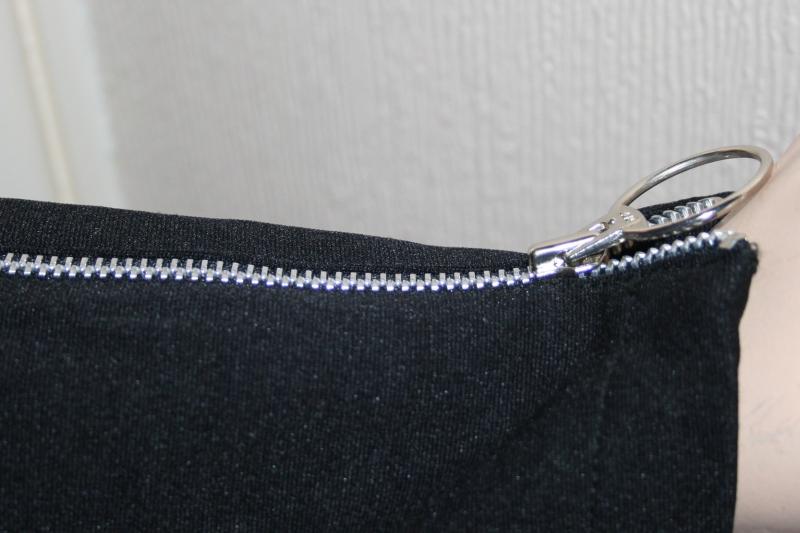 Avengers Movie Emma Peel Jacket Black Jersey (2)