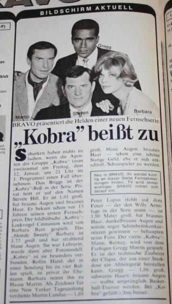 bravo 1968 no 1