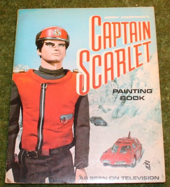 capt scar painting book cs 1
