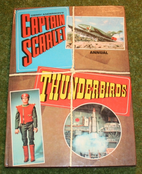 captain scarlet thunderbirds annual little storping museum