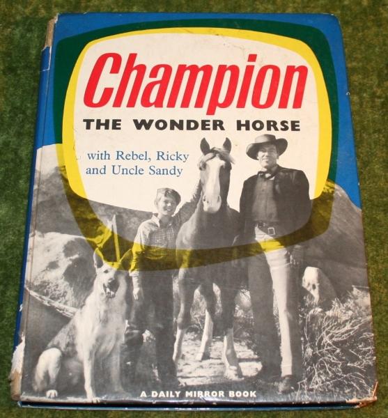 Champion the wonder horse annual (c) 1957