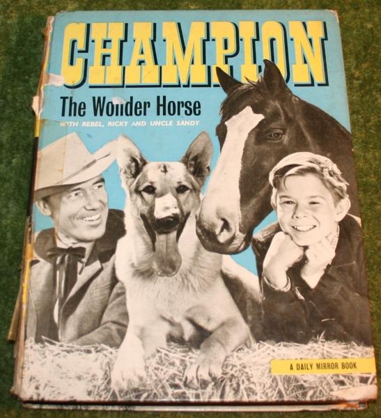 Champion the wonder horse annual (c) 1958 (2)
