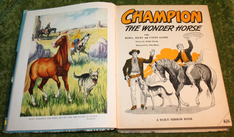 Champion the wonder horse annual (c) 1958 (4)