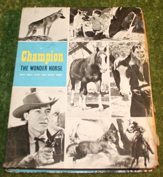 Champion the wonder horse annual (c) 1958